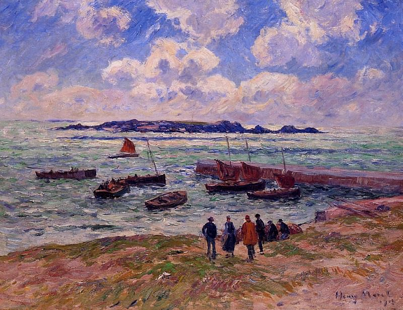 St Guenole Pen March 1908. Henry Moret
