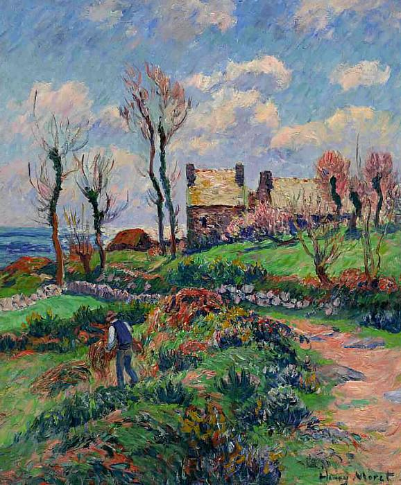Near Audierne 1908. Henry Moret