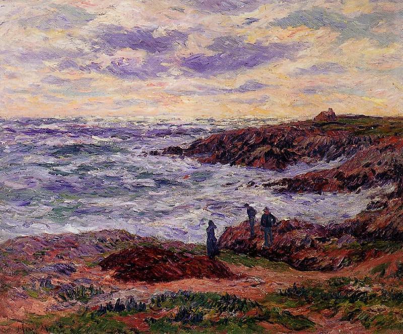 The Coast at Doelan 1912. Henry Moret