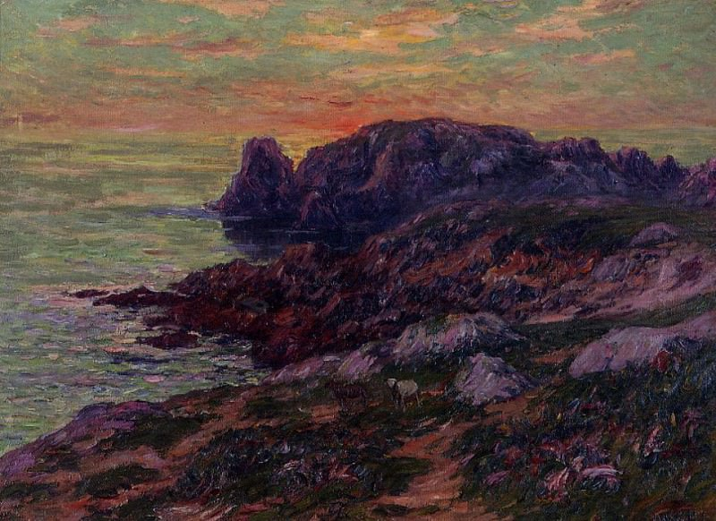 Ile dOuessant Finistere 1909. Henry Moret