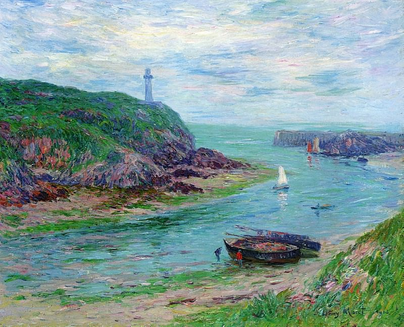 Doelan Low Tide 1903. Henry Moret