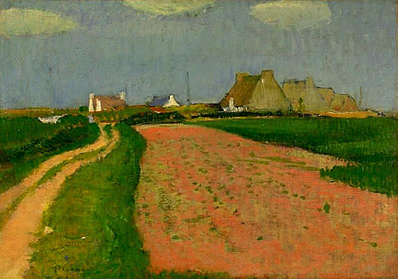 Paysage de Bretagne 1890. Анри Море