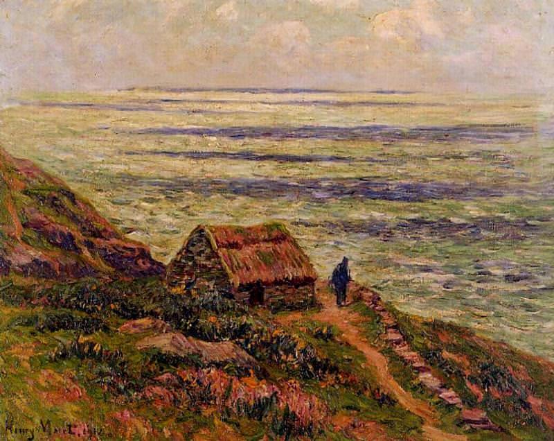 Cliffs of Jaboure 1912. Henry Moret