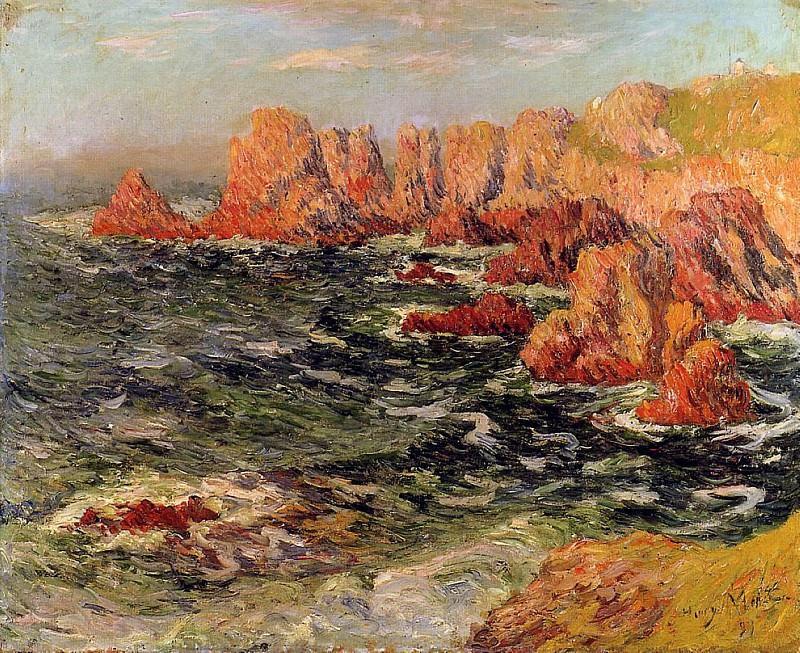 Бретонский берег, 1893. Анри Море