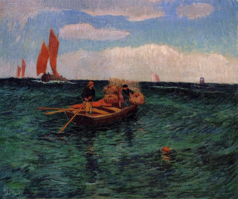 The Breton Sea. Henry Moret
