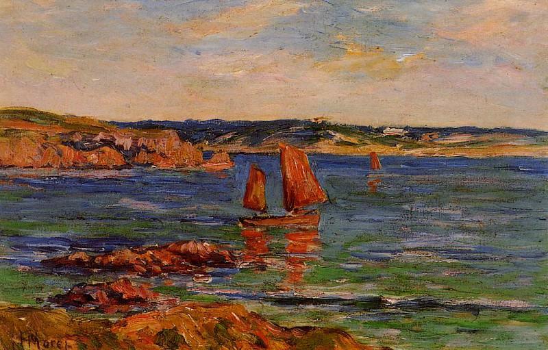 Red Rocks. Henry Moret