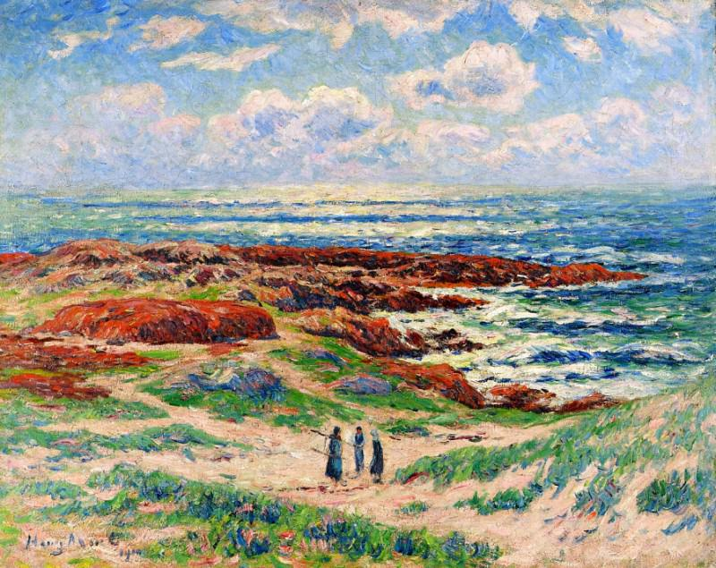 The Dunes of Tregune Finistere 1910. Henry Moret