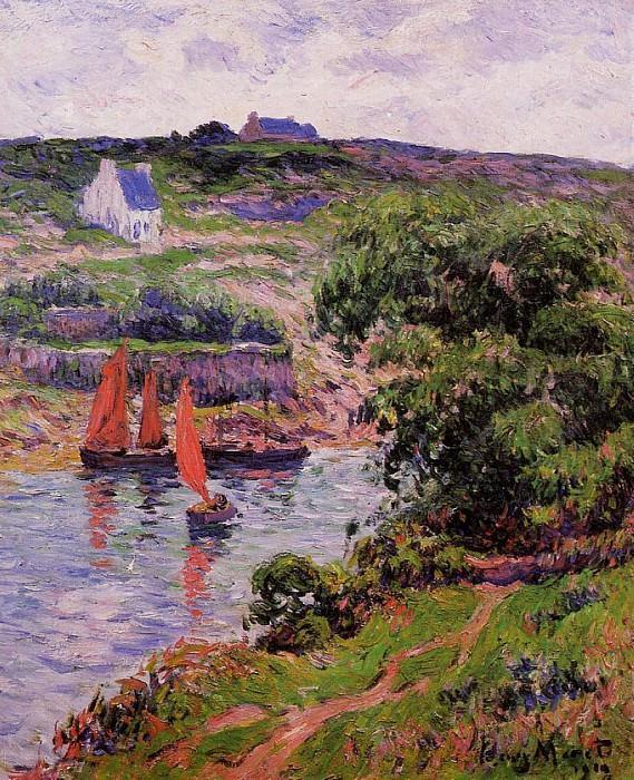 Dolain Finistere 1910. Henry Moret