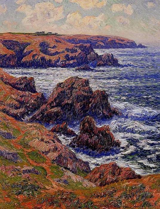 La Terre de Cleden Point de Raz Finistere 1911. Henry Moret