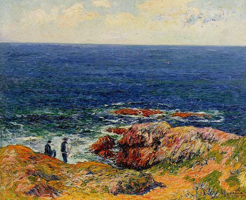 The Breton Coast 1898. Henry Moret