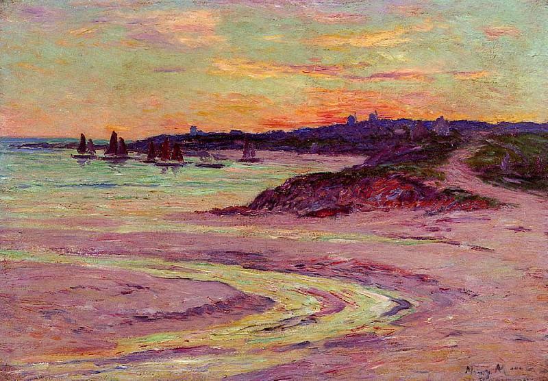 Мыс Лервили Бретань, 1906. Анри Море