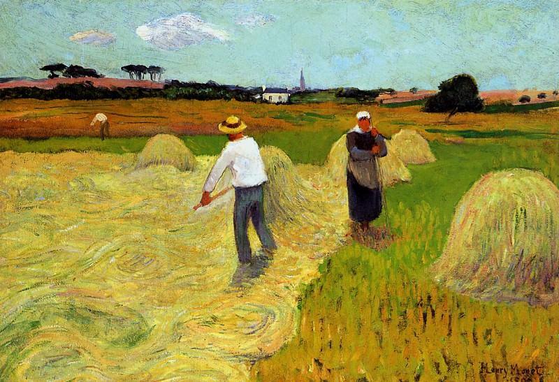 Hay making Sun. Henry Moret