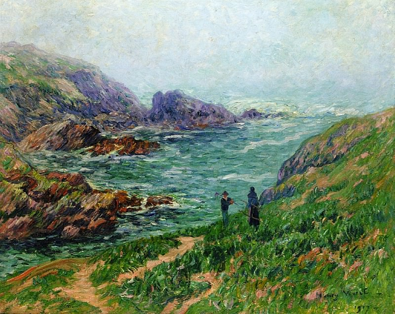 Foggy Weather Brittany 1907. Henry Moret