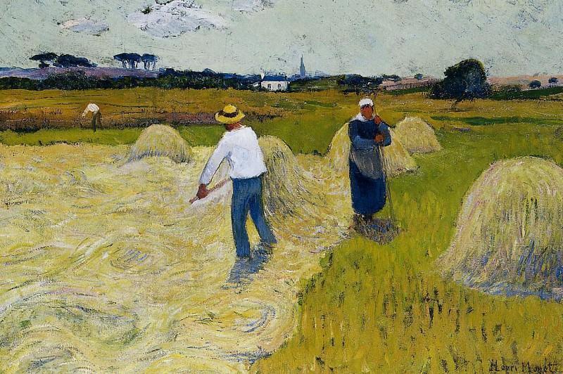 Haymaking 1893. Henry Moret