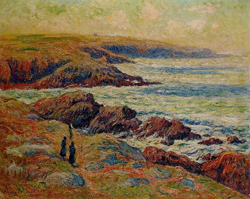 The Coast near Douarnenez 1910. Henry Moret