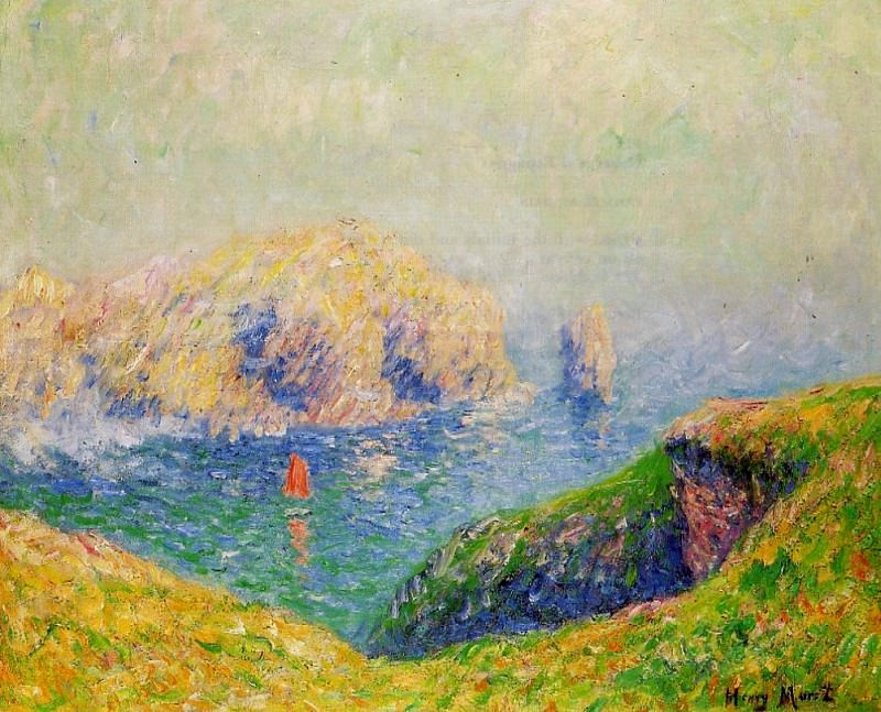 The Red Sail. Henry Moret