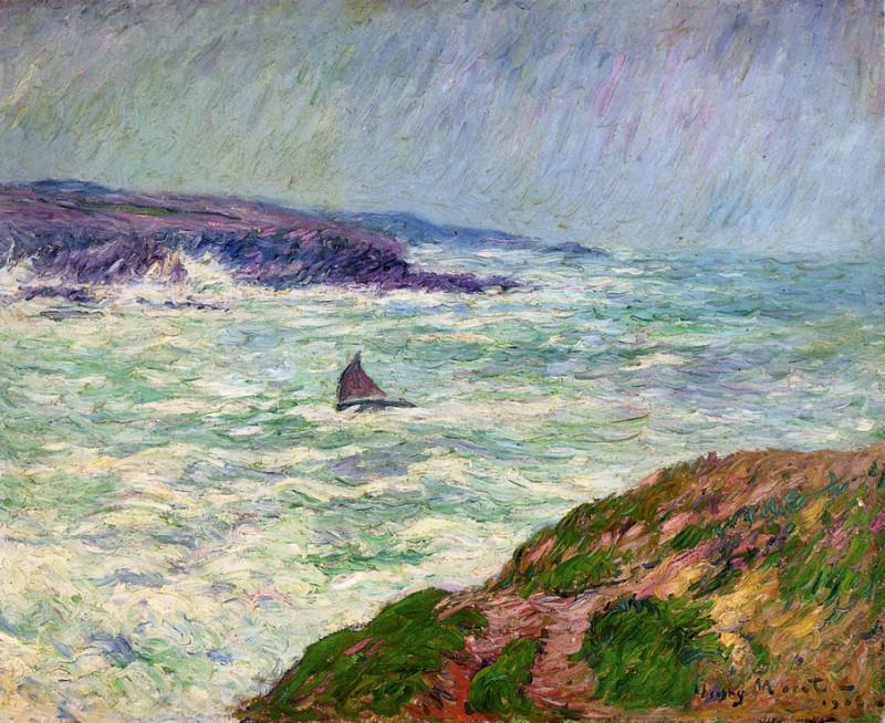 The Entrance to Pouldu 1904. Henry Moret