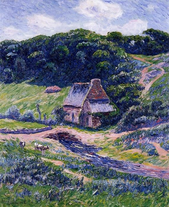 Farm at Doelan. Henry Moret