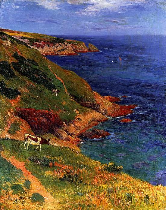 Остров Гру, 1894. Анри Море