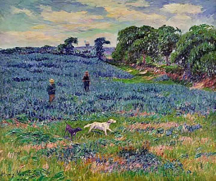Landschaft in der Bretagne. Henry Moret