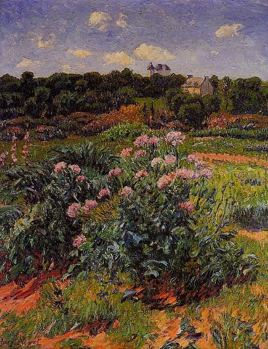 The Garden 1895. Henry Moret