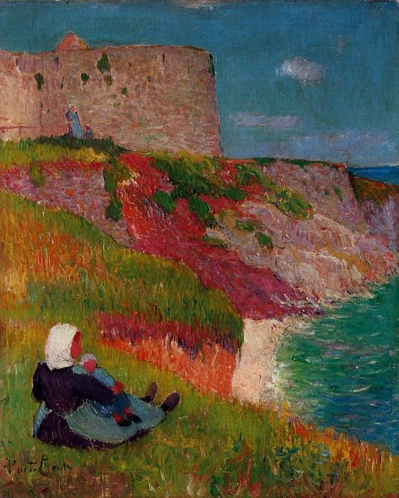 View of Port Louis 1891. Henry Moret