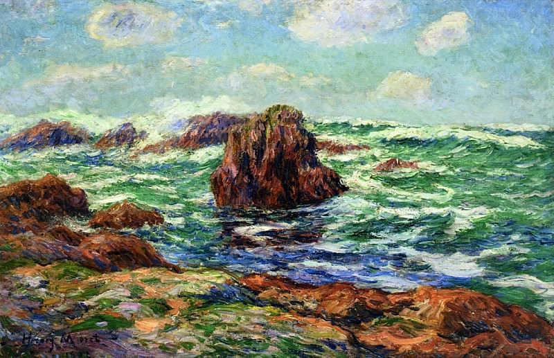 Pern Ile dOuessant 1902. Henry Moret