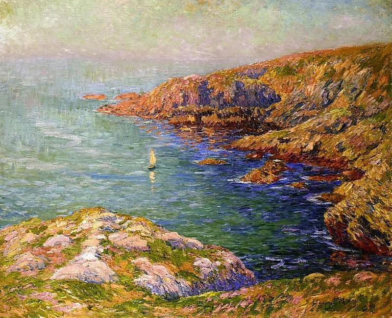 Calm Coast of Brittany 1906. Henry Moret