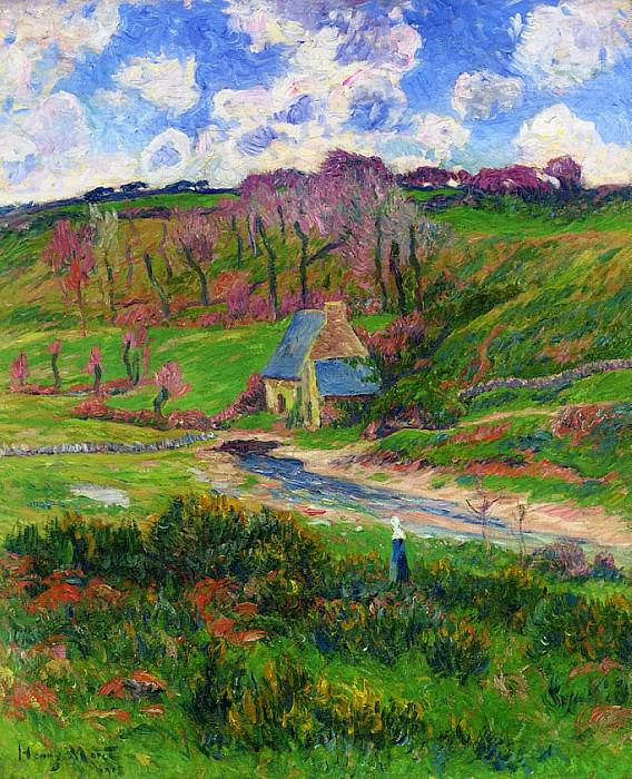 Bretons on the Banks of a River 1908. Henry Moret