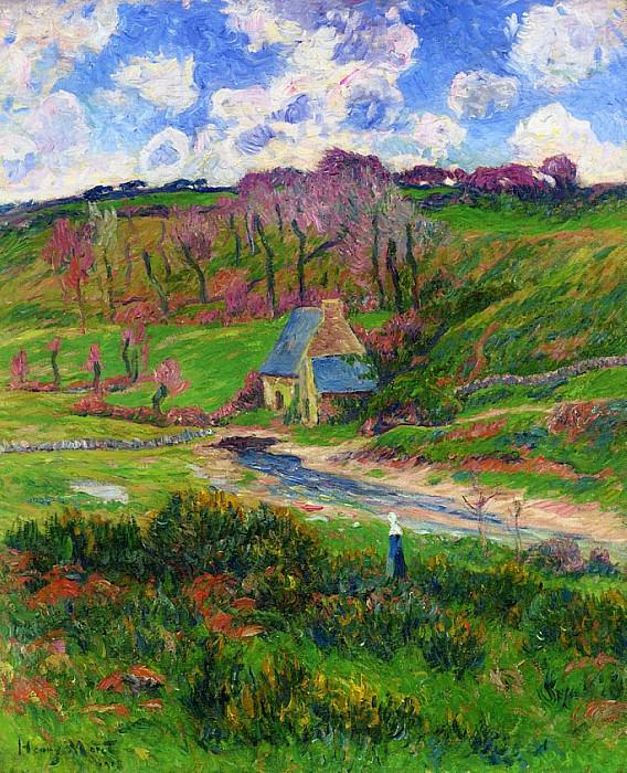 Bretons on the Banks of a River 1908. Henry Moret