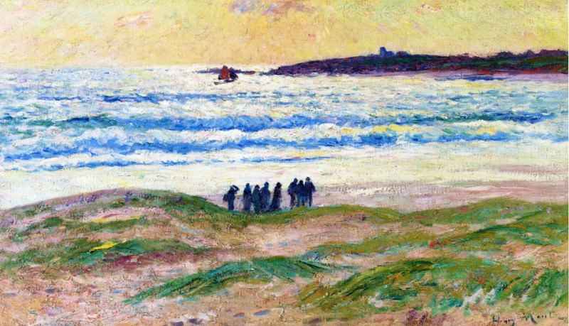 Coast of Brittany 1906. Henry Moret
