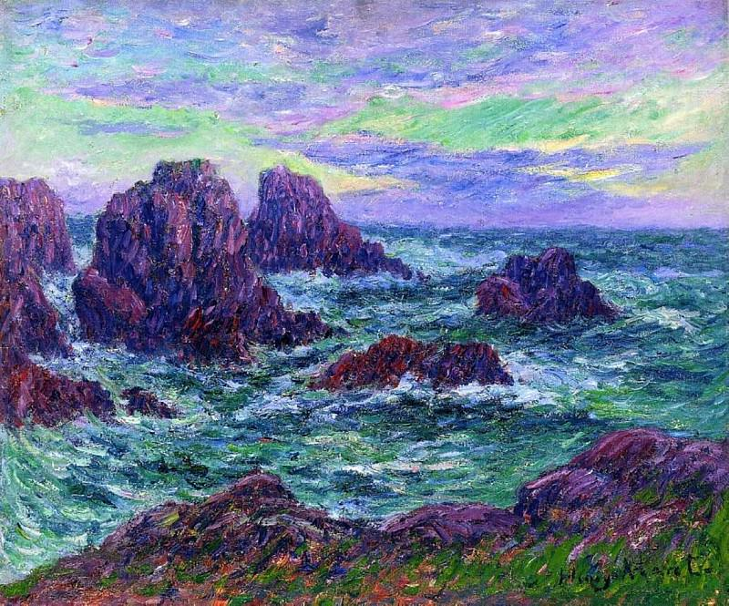Evening at Ouessant. Henry Moret