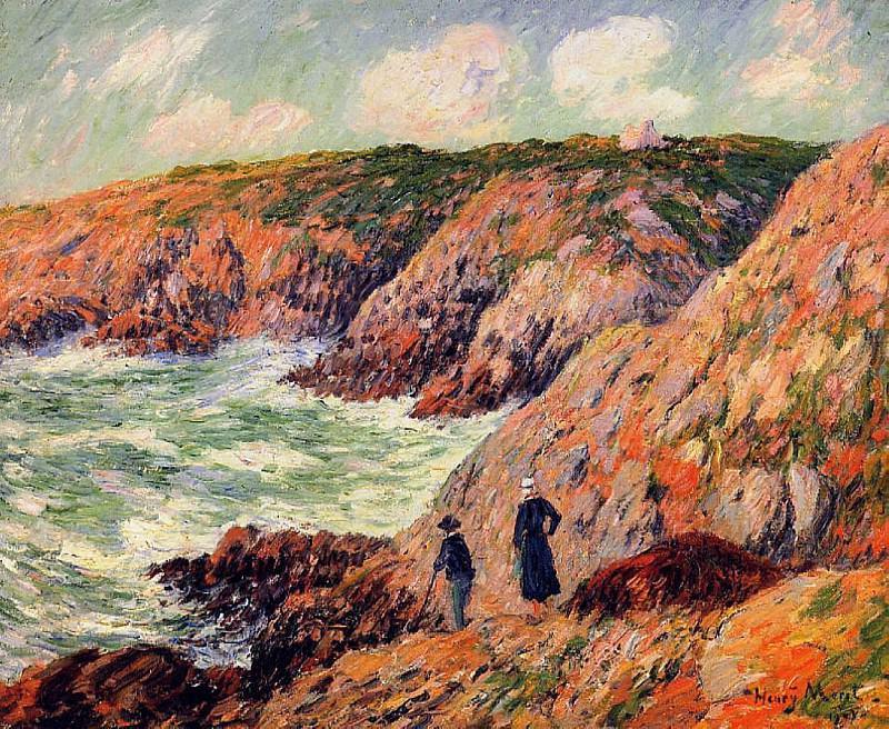 Моэлианские скалы, департамент Финистер, 1901. Анри Море