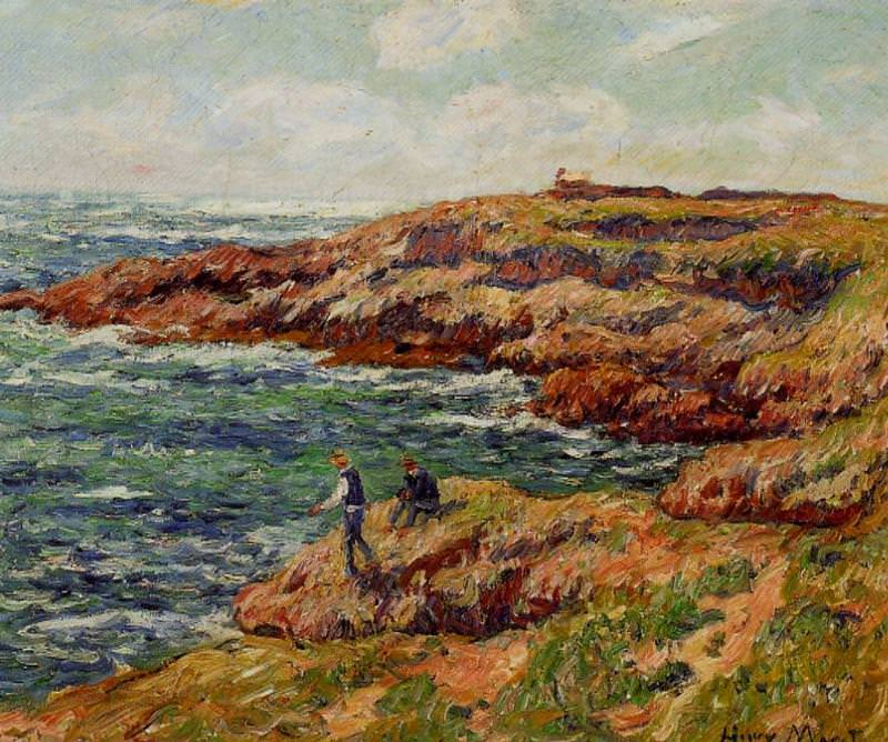 Fishermen on the Breton Coast 1909. Henry Moret