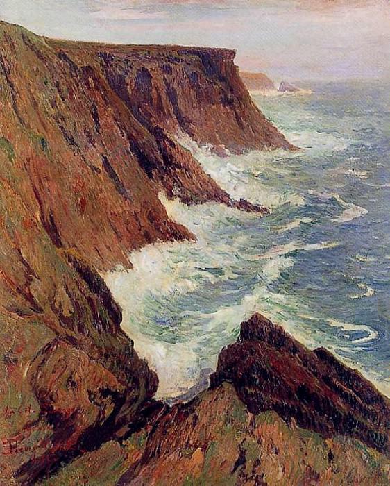 La Cote Sauvage Croix 1891. Henry Moret