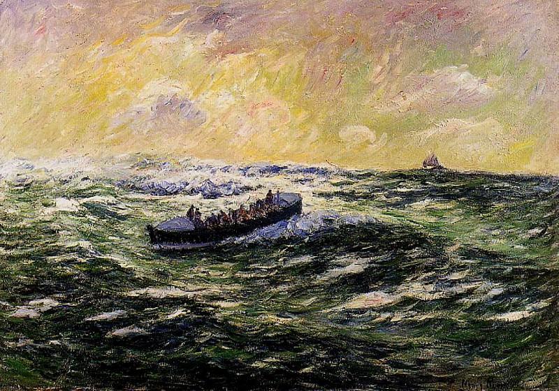 Lifeboat at Audierne. Henry Moret