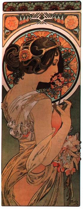 Маргаритка, 1899. Альфонс Мария Муха