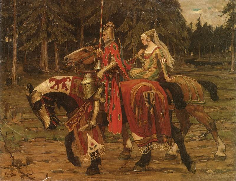 Heraldic Chivalry. Alphonse Maria Mucha