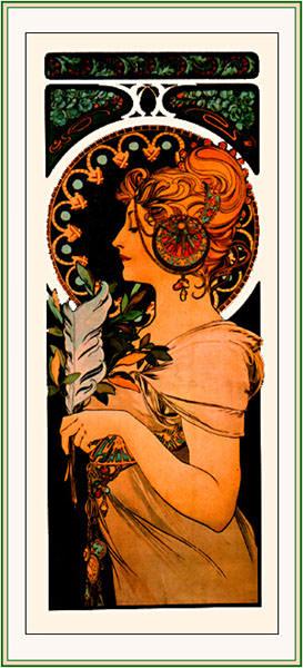 Перо, 1899. Альфонс Мария Муха
