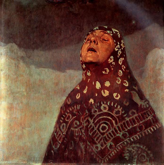 Winter Night 1920 60x73cm. Alphonse Maria Mucha