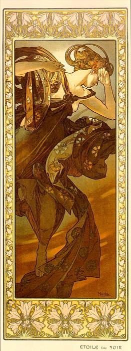 evestar. Alphonse Maria Mucha