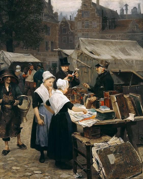 Antiques dealer in Amsterdam. Paul Friedrich Meyerheim