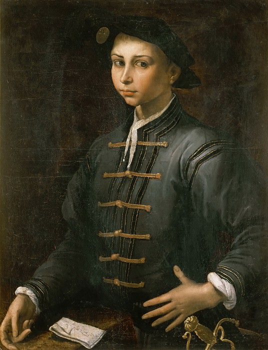 Portrait of a Boy. Pietro Negroni