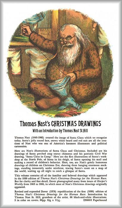Back Cover. Thomas Nast