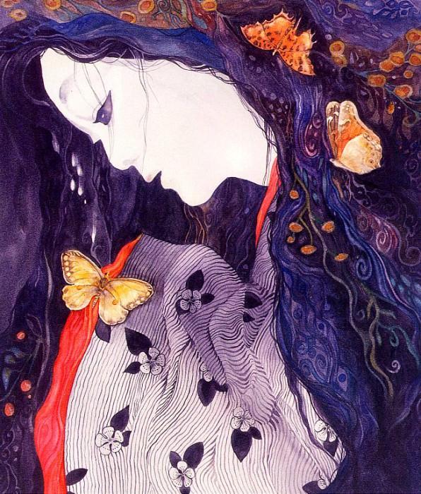 Goddess on a Moonless Night. Helen Nelson-Reed