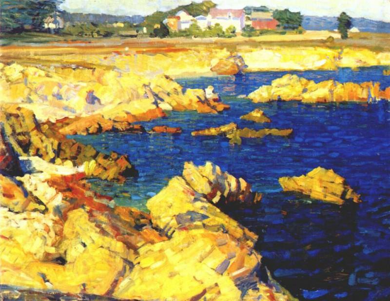 nelson pacific grove shoreline c1915. Helen Nelson-Reed