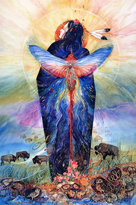 Prairie Sphinx Woman. Helen Nelson-Reed