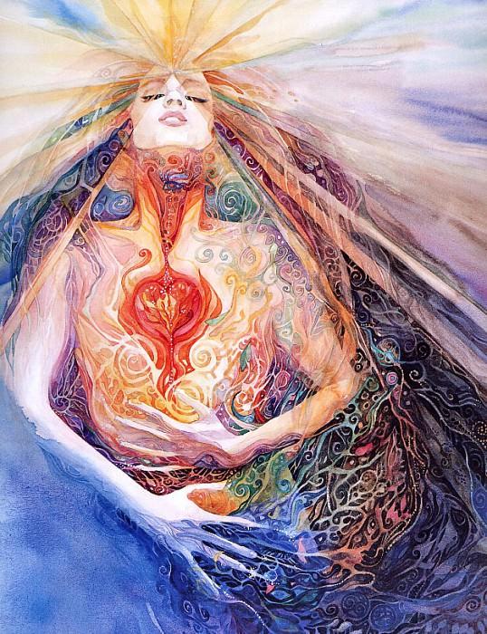 Goddess Light Within. Helen Nelson-Reed
