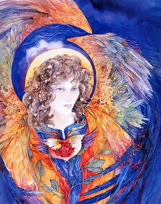 Angel of the Heart Chakra. Helen Nelson-Reed
