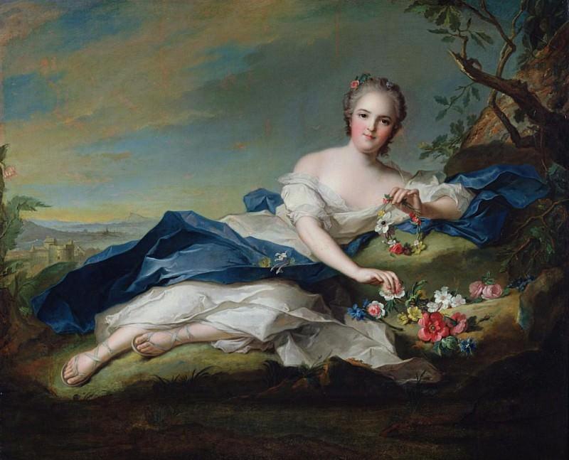 Генриетта де Франс. Жан-Марк Натье